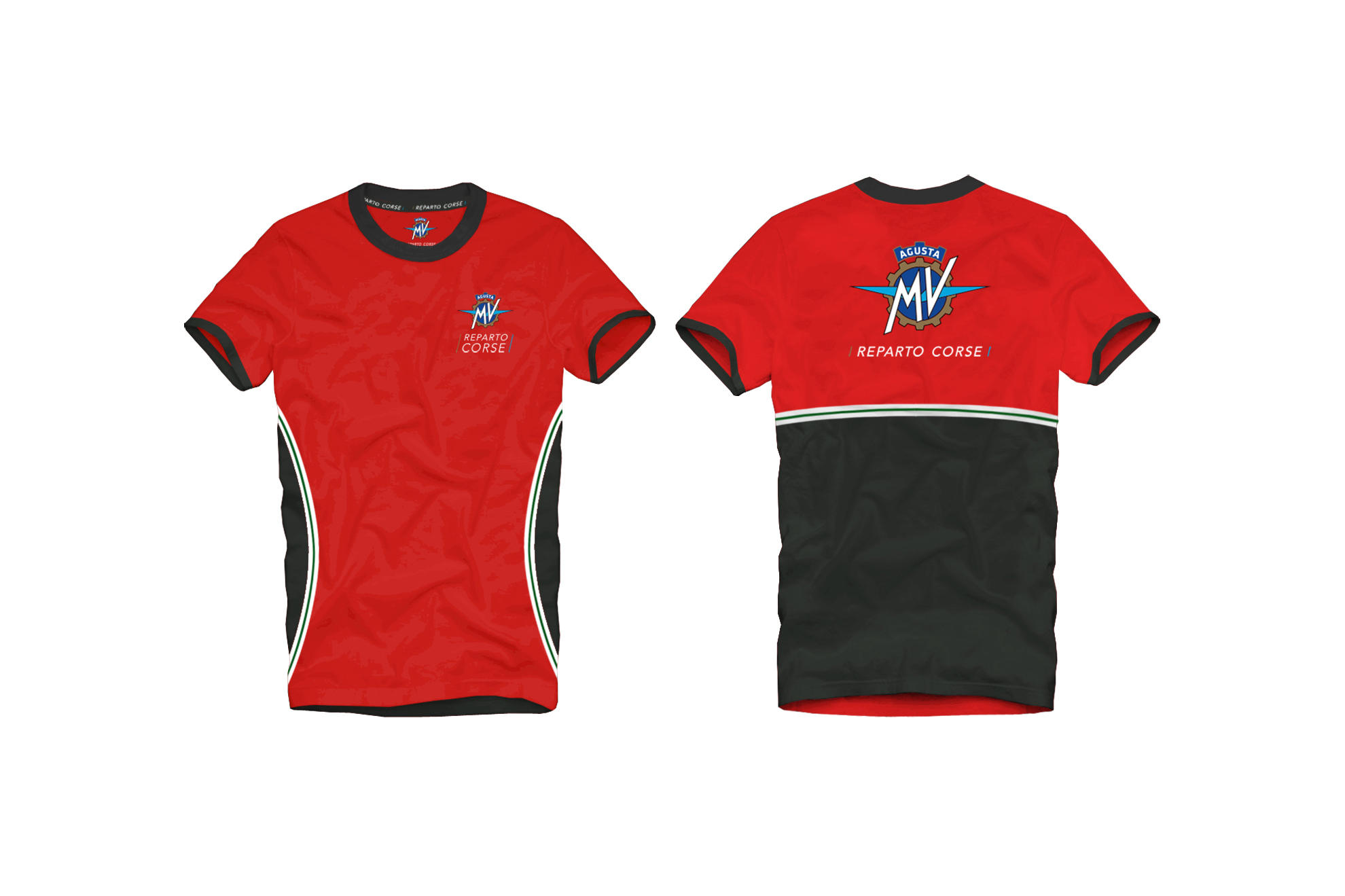 MENS RC T-SHIRT RED