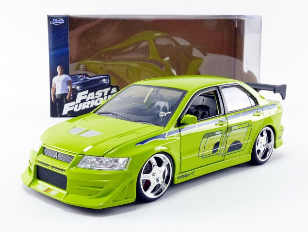 Model Rychle a Zběsile Mitsubishi Lancer - Brian's