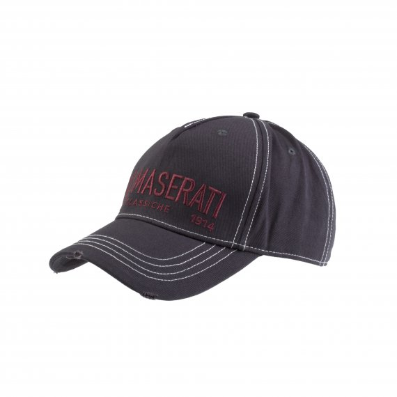 Maserati Grey Destroyed Cap