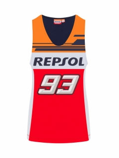 MM93 REPSOL DUAL TANK TOP