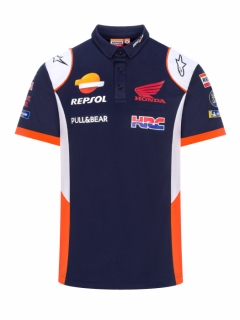 POLO BLUE REPSOL TEAMWEAR 2019