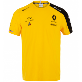 RENAULT F1 TEAM T-SHIRT YELLOW