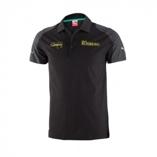 MERCEDES AMGP ROSBERG POLO BLACK