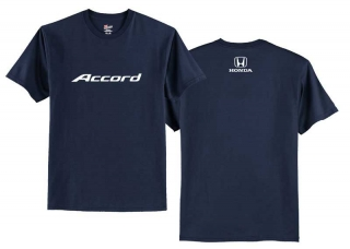HONDA NAVY ACCORD LOGO TEE - LIFESTYLE TRIČKO HONDA ACCORD