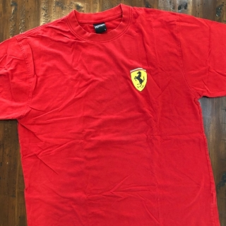 MENS SMALL SCUDETTO T-SHIRT RED