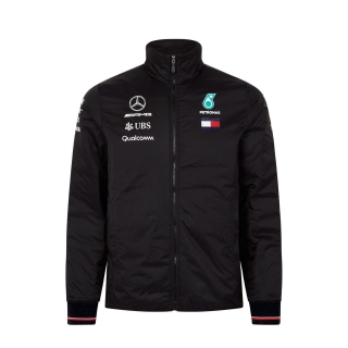 MERCEDES BENZ AMG FORMULA 1 TEAM LIGHTWEIGHT PADDED JACKET - BUNDA MERCEDES F1