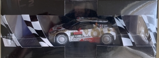 IXO-MODELS - CITROEN - DS3 WRC TEAM TOTAL ABU DHABI WRT N 4 8th RALLY MONTECARLO 2015 S.LOEB - D.ELENA