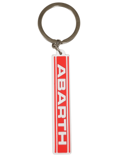 Soft Touch Abarth Band Key Ring