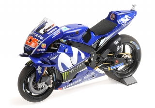 MINICHAMPS - 1/12 - YAMAHA - YZR-M1 TEAM MOVISTAR N 25 SEASON MOTOGP 2018 MAVERICK VINALES