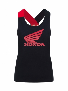 TANK-TOP WOMAN HONDA HRC BLACK 2020