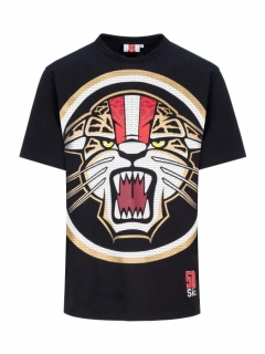 T-SHIRT SIC58 BLACK JAGUAR 2020