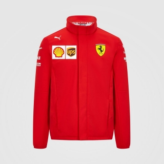SF 2020 TEAM SOFTSHELL JACKET - TÝMOVÁ SOFTSHELL BUNDA SCUDERIA FERRARI