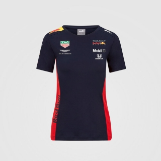 RED BULL RACING WOMENS 2020 TEAM T-SHIRT
