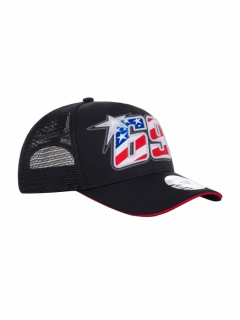 BLACK TRUCKER BASEBALL CAP - NICKY HAYDEN 69 2020 - KŠILTOVKA TRUCKER NICKY HAYDEN