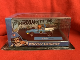 Model MICHEL VAILLANT - 1/43 - F1 N 12 1970 - WITH FIGURES