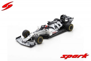 Model Alpha Tauri AT01 Barcelona test 2020 Kvyat 1/43