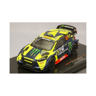 Model Ford Fiesta RS WRC V. Rossi Monza Rally Show 2018 1/43