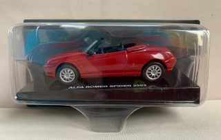 Model Auto Alfa Romeo Spider 2003 1/43