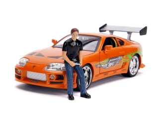 Model Rychle a Zběsile Toyota Supra MKIV - Brian's 1:18
