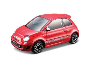 Model Fiat Abarth 500 red 1:43