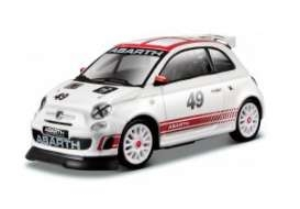 Model Fiat Abarth 500 Asetto corse nr.49 1:43