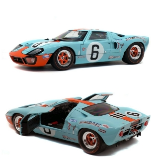 Model Ford GT40 MK1 N.6 Winner LM 1969 Solido 1:18