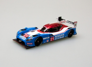 Model Nissan GT-R LM Nismo  #21 24h Le Mans, blue/red/white 1:43