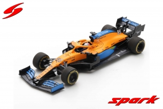 Model McLaren MCL35 F1 Austrian GP 2020 Carlos Sainz JR. 1/43