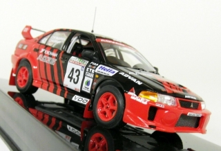 Model  Mitsubishi Lancer Evo V #43 Rally New Zealand 1999 Nutuhara/Odagiri 1:43