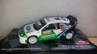 Model Ford England Focus Rs Wrc #3 Rally Montecarlo 2005 T.Gardemeister J.Honkanen 1:43