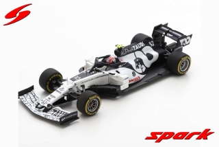 Model SPARK Alpha Tauri AT01 F1 Winner Italian GP 2020 Pierre Gasly 1/43