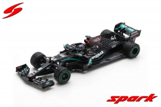 Model SPARK Mercedes F1 W11 Winner Turkish GP 2020 Lewis Hamilton 1/43 + pitboard