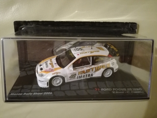 Model FORD ENGLAND - FOCUS RS WRC N 46 WINNER RALLY MONZA 2006 VALENTINO ROSSI - C. CASSINA