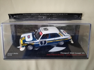 Model PEUGEOT - 504 COUPE V6 N 2 RALLY SAFARI 1976 J.P.NICOLAS - J.C.LEFEBVRE