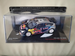Model CITROEN - C4 WRC RED BULL N 8 RALLY SWEDEN 2010 K.RAIKKONEN - K.LINDSTROM