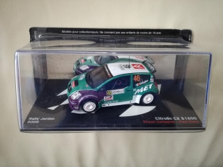 Model CITROEN - C2 S1600 N 46 RALLY JORDAN 2008 S.GALLAGHER - P.KIELY