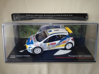 Model PEUGEOT - 207 S2000 N 6 RALLY ALSACE VOSGES 2009 G.CANIVENQ - S.GRIMAL