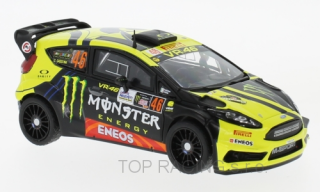 FIESTA RS WRC MONSTER N 46 RALLY MONZA 2017 VALENTINO ROSSI - C.CASSINA