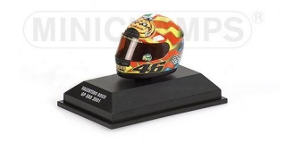 Model přilba - HELMET WORLD CHAMPION 2001 VALENTINO ROSSI