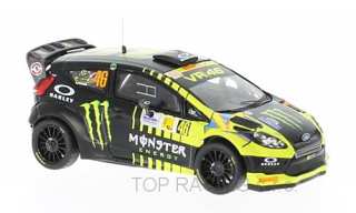 Ford Fiesta RS WRC, No.46, Monster, Rallye Monza, V.Rossi/C.Cassina, 2013