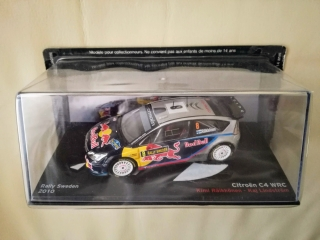 Model CITROEN  - C4 WRC RED BULL N 7 RALLY PORTUGAL 2010 S.OGIER