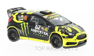 Ford Fiesta RS WRC, No.46, Monster, Rallye Monza, V.Rossi/C.Cassina, 2014  1/43