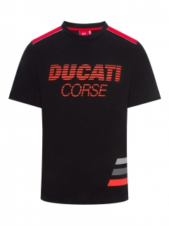 DUCATO CORSE STRIPED tričko 2019