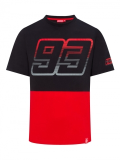 MM93 BLACK&RED tričko 2019